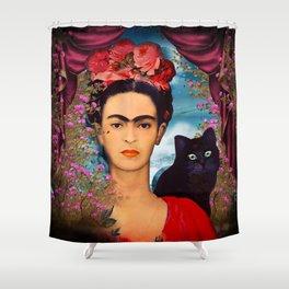Frida Kahlo   c Shower Curtain
