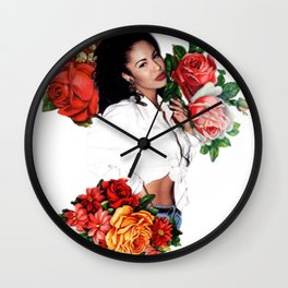 Floral Queen Wall Clock