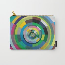 retro test pattern Carry-All Pouch