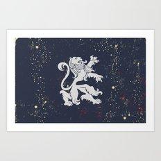 U Von King Art Print