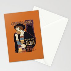 Le Fourth Doctor Stationery Cards