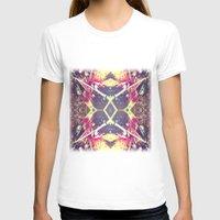 splatter T-shirts featuring Paint Splatter by Devin Stout