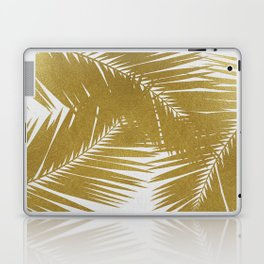 Palm Leaf Gold III Laptop & iPad Skin