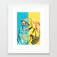 revolution Framed Art Prints featuring Revolution by Alex Chystiakov