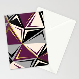 Geometric abstract1 Stationery Cards