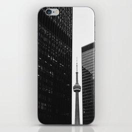 CN Tower Between Buildings iPhone Skin