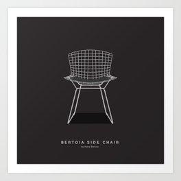 Bertoia Side Chair - Harry Bertoia Art Print