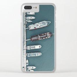 Zakynthos Pier Clear iPhone Case
