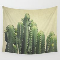 tequila Wall Tapestries featuring Cactus by Pure Nature Photos