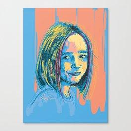 Digital Drawing 36 Canvas Print