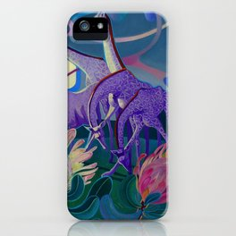 Moonlight dances iPhone Case