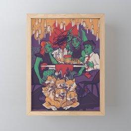 Dindin Framed Mini Art Print