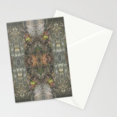 Natural Mosaic Collage 4 Stationery Cards