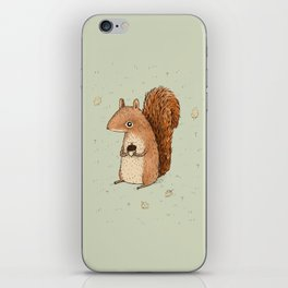 Sarah the Squirrel iPhone Skin