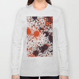 Action Painting No 123 By Chad Paschke Long Sleeve T-shirt