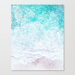 Faded sea Canvas Print