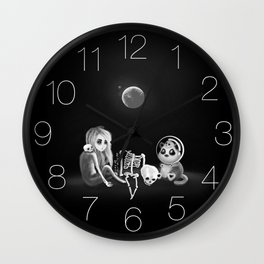 If I had a home to come back to Wall Clock