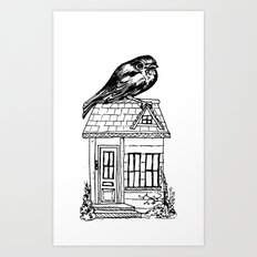 Home Bird Art Print