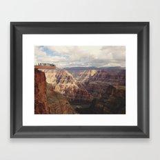 Skywalk Framed Art Print