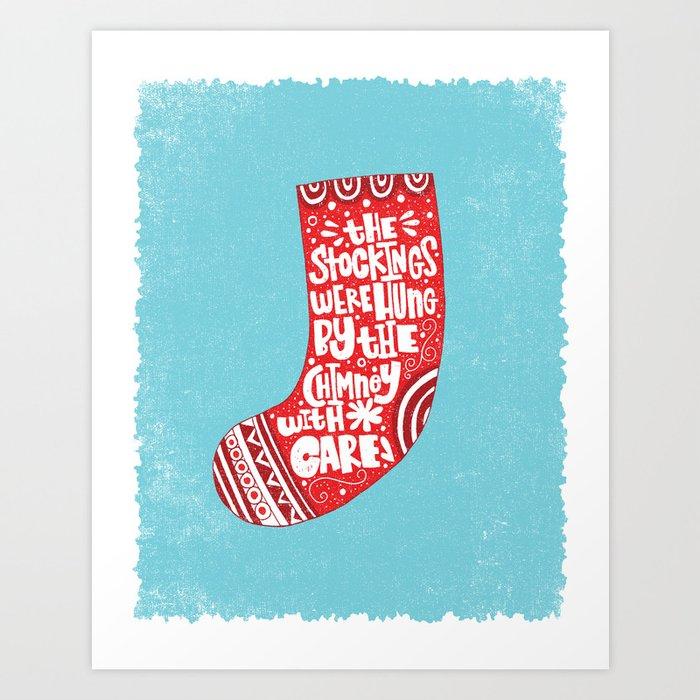 THE WORST CHRISTMAS EVER Art Print