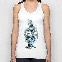 dragons Tank Tops featuring dragons by Vector Art