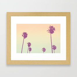 Pam Tree Candy Framed Art Print