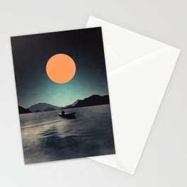 One lonely night Stationery Cards