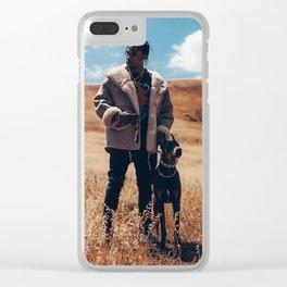 Travis Scot Clear iPhone Case