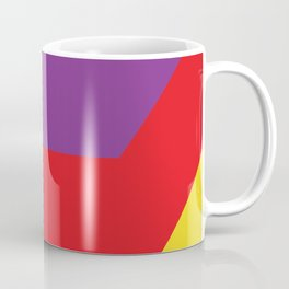 Some strange lightnings in different colors and shapes... Well... almost lightnings... Coffee Mug