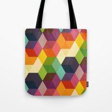 Retro Hexagonzo Tote Bag