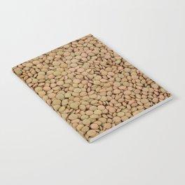 Green lentils Notebook