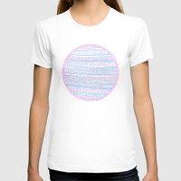 circle T-shirts featuring Circle by Madi