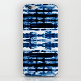 Indigo Stripe Wash iPhone Skin