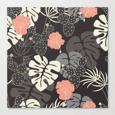 Tropical pattern 056 Canvas Print