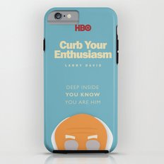 Curb Your Enthusiasm - Hbo tv Show with Larry David - Poster Tough Case iPhone 6
