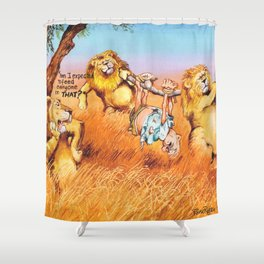the prey Shower Curtain