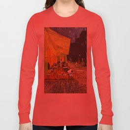 Snoopy meets Van Gogh Long Sleeve T-shirt