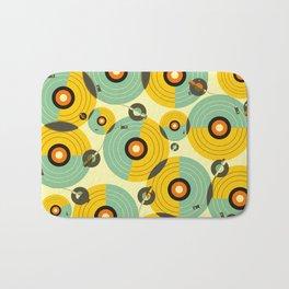 Turntables (Yellow) Bath Mat