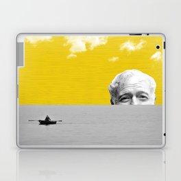 Ernest Hemingway | Old man and the Sea | Digital Collage Art Laptop & iPad Skin