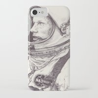 louis armstrong iPhone & iPod Cases featuring Armstrong by Zlou