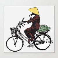vietnam Canvas Prints featuring Vietnam by Ryan Ly