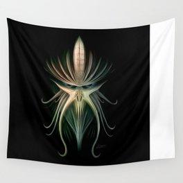 Kraken Mask Wall Tapestry