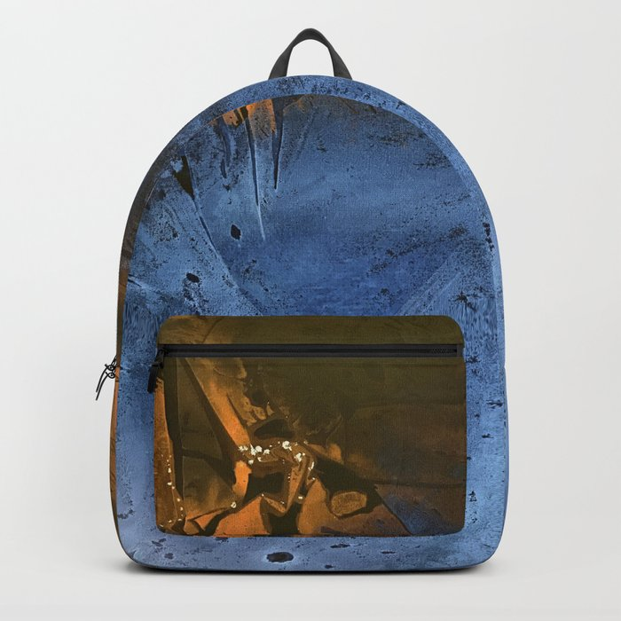Ocean At Night Jean Copper Backpack