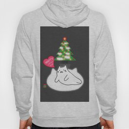 Merry Christmas cat 89 Hoody