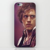 enjolras iPhone & iPod Skins featuring Enjolras by Julia Bland