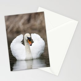 1046327 Mute Swan Stationery Cards