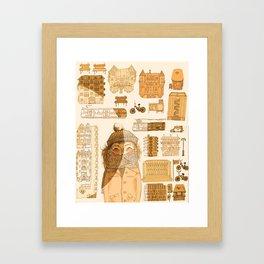 HELSINkiva! Framed Art Print