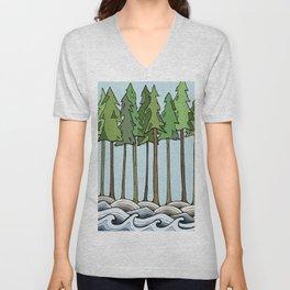let nature consume you Unisex V-Neck