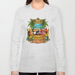 Gettin' Freaky at the Tiki Long Sleeve T-shirt
