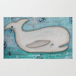 White Whale Rug